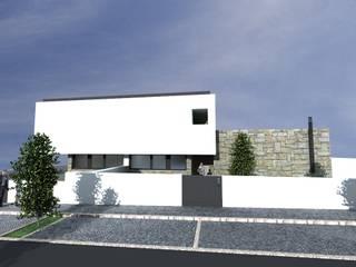Casa Lote10:   por RMA - Rui Mourão Arquitecto Unipessoal Lda