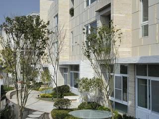 大桓設計顧問有限公司 Modern houses Marble White
