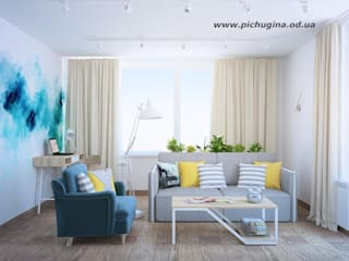 Living room by Tatyana Pichugina Design