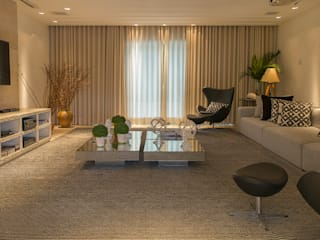 Fotos para Villa Vittini l Búzios RJ Salas multimídia modernas por ArielCPhoto Moderno