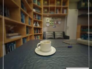 Biblioteca: Escritórios  por Aúra Arqstudio