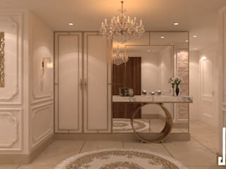 St. Regis hotel apartment:  Corridor & hallway by dal design office