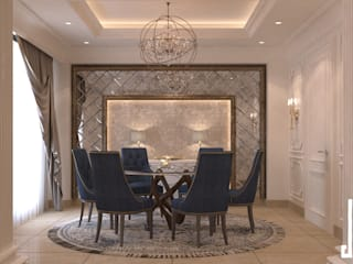 St. Regis hotel apartment: classic Dining room by dal design office