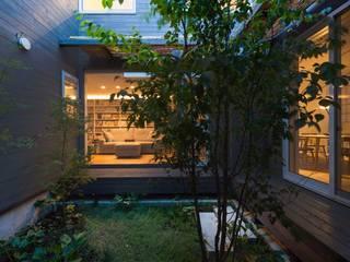 Jardins  por HAN環境・建築設計事務所 , Escandinavo