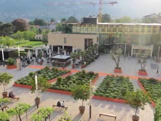 Jardin moderne par MASSIMO SEMOLA PROGETTAZIONE GIARDINI MILANO Moderne