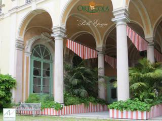 Jardin d'hiver classique par MASSIMO SEMOLA PROGETTAZIONE GIARDINI MILANO Classique