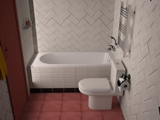 Bathroom by  Яна Васильева. дизайн-бюро ya.va,