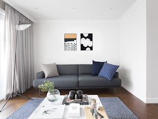 Living room by husk design 허스크디자인, Modern