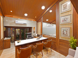 GINGER ENTERPRISE Modern study/office by smstudio Modern