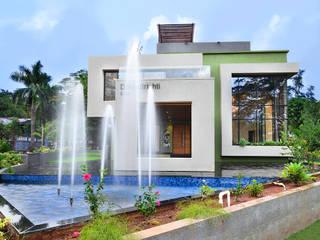 DIVYA BUNGALOW Modern houses by smstudio Modern
