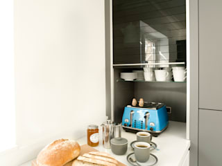Urban Style Matt Lava Grey & White Gloss Urban Myth Modern kitchen Grey