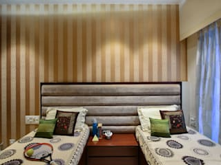 PRIVATE RESIDENCE SANTACRUZ smstudio Modern style bedroom