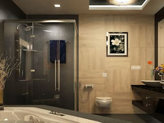 Monnaie Interiors Pvt Ltd Modern style bathrooms