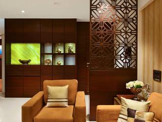 Living room by smstudio, Modern