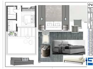 Taller de Interiores Mediterraneos Eclectic style bedroom