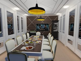 Yemek Odası Modern Yemek Odası ARS İç Mimarlık Modern