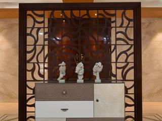 DAHANU- VIJAY GHODAWAT smstudio Modern corridor, hallway & stairs