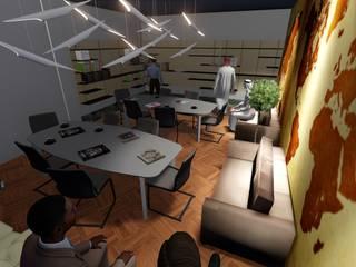 Kütüphane Modern Çalışma Odası ARS İç Mimarlık Modern