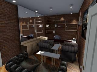 Makam Odası Modern Çalışma Odası ARS İç Mimarlık Modern
