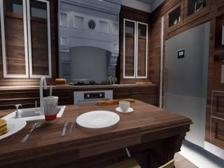 Mutfak Tasarımı Klasik Mutfak ARS İç Mimarlık Klasik
