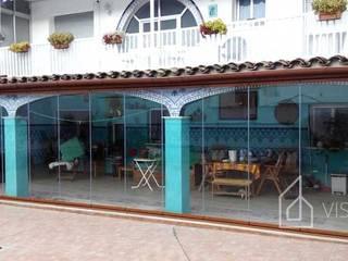 Viseka Patios & Decks Glass Transparent