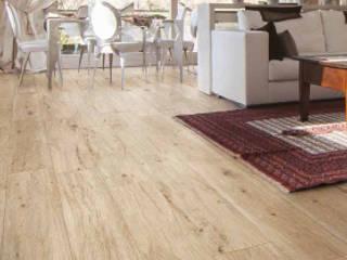 pavimento finto legno una delle piastrelle in vendita su ebaypavimenti: Soggiorno in stile  di pavimento finto legno