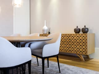 Modern dining room by TGV Interiores Modern