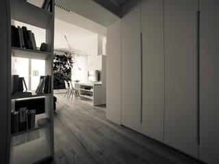 appartamento c+r Ingresso, Corridoio & Scale in stile moderno di Gian Carlo Sottoriva Architetto Moderno