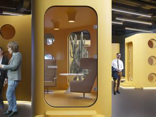 Офис для рекламного агенства: Рабочие кабинеты в . Автор – Yurov Interiors,
