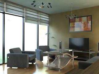 Arq. Rodrigo Culebro Sánchez Living room