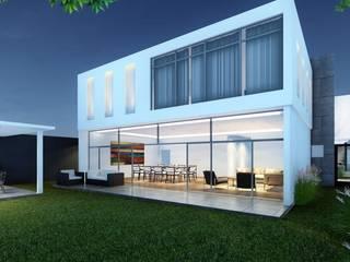 Valle: Casas de estilo  por HERRADA Arquitectura