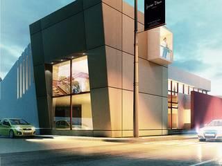 Oficinas Corporativas: Estudios y oficinas de estilo  por Javier Diaz │ arquitecto,