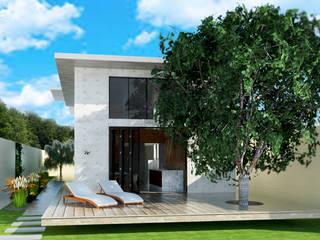 Projeto residencial : Casas  por Vinicius Gama,Industrial