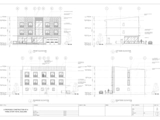 COMMERCIAL AND HOTEL:   by Dennis Gomez CAD Services