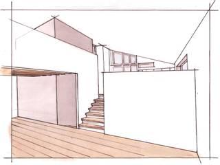 Woonhuis Rosmalen: modern  door DWB2C, Modern