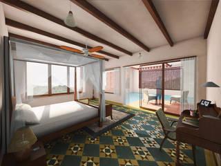 Traditional Bungalow:  Bedroom by Studio SA3