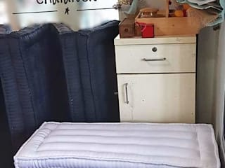 ที่นอนพับได้ ที่นอนพับสามตอน 3 fold futon bed : ผสมผสาน  โดย chalaluck, ผสมผสาน