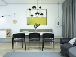 Modern living room by NA NO WO ARCHITEKCI Modern