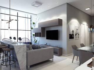 Salas de estar  por Laboratório Treze Arquitetura + Design