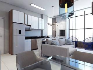 Cozinhas  por Laboratório Treze Arquitetura + Design
