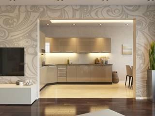 Salones de estilo moderno de GraniStudio Moderno