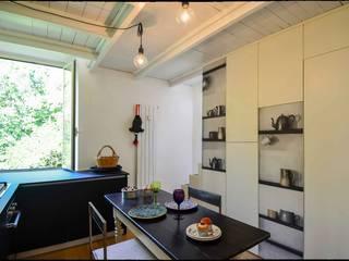 Casa Brio Sala da pranzo eclettica di Arabella Rocca Architettura e Design Eclettico