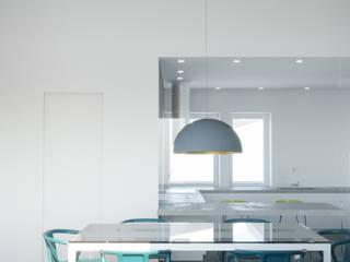 Villa Ansedonia Sala da pranzo moderna di Arabella Rocca Architettura e Design Moderno