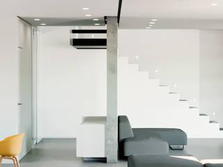 Villa Passiva a Casal Palocco Soggiorno moderno di Arabella Rocca Architettura e Design Moderno