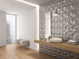 : modern Bathroom by DUNE CERAMICA