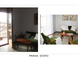 HOME STAGING:  INTERVENTO SU APPARTAMENTO IN VENDITA IN CENTRO STORICO:  in stile  di Alessandri Architetti