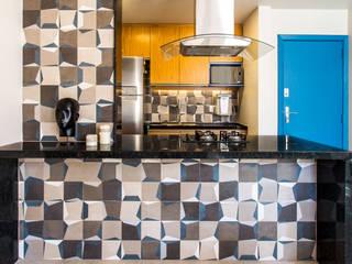 Projeto Apartamento RF, Tijuca, Rio de Janeiro, RJ. Cozinhas modernas por Rafael Ramos Arquitetura Moderno