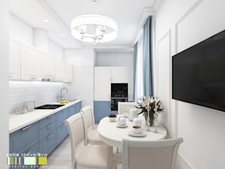 クラシックデザインの キッチン の Мастерская интерьера Юлии Шевелевой クラシック