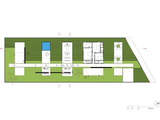 Planta do térreo:   por Vereda Arquitetos