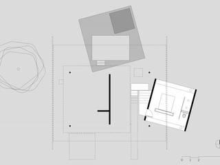 Planta cota 586:   por Vereda Arquitetos